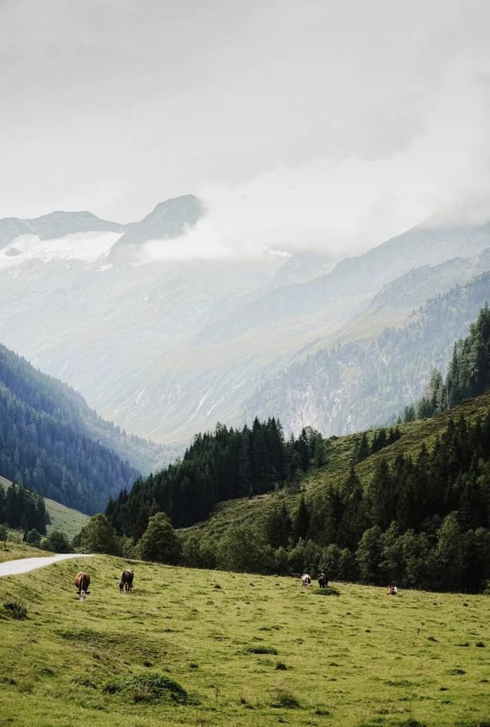 Gerlos bergen
