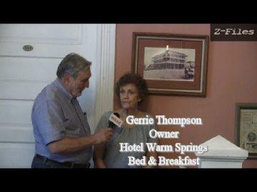 Z FILES Visits Warm Springs Georgia