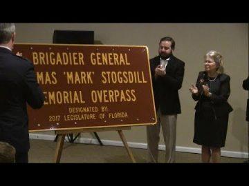 Z FILES at Dedication Ceremony for Brig  Gen  Mark Stogsdill