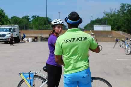 A WABA instructor passing on valuable knowledge