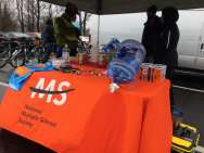 Our lovely Potomac Pit Stop sponsors, Bike MS (photo: Michelle Cleveland)