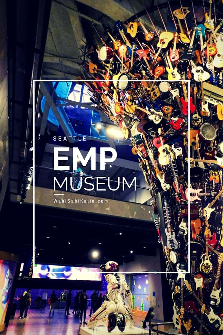Experience music in a whole new way at the EMP Museum in Seattle