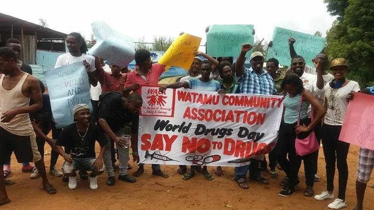 No Drugs Day Donate