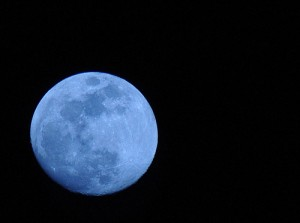 Ein blauer Mond