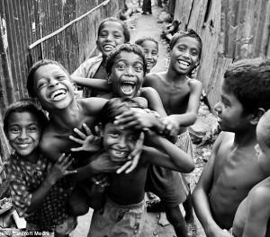 Natürliche Medizin-Kinder Lachen