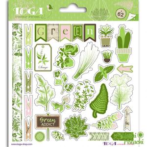 Pegatinas oh my green
