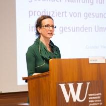 Moderatorin Birgit Dahlheimer, 22.02.2016 Eröffnung und Keynotes