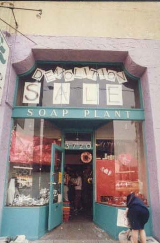 1984 - Demolition Sale at the Sunset Blvd. Location