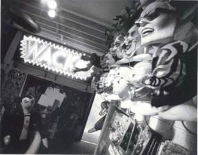 1990 - Inside Wacko Melrose.