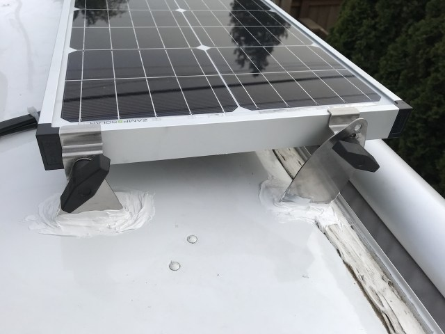 Electrical Upgrades Part Iii Airstream Solar Panels