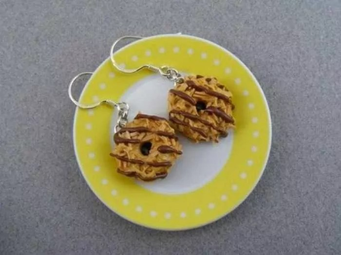 Funny Pendants and earrings in the form of food – Part 2 -18
