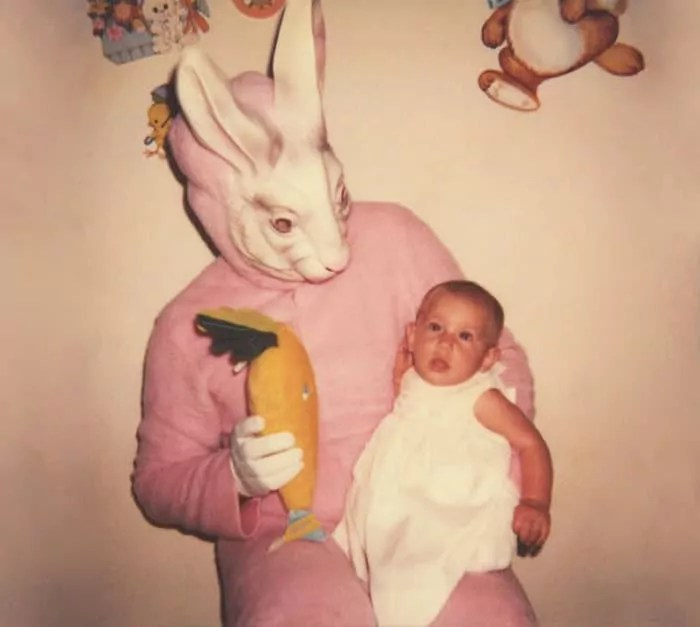 60 Scary Easter Bunny Pictures That Will Give You Nightmares -01