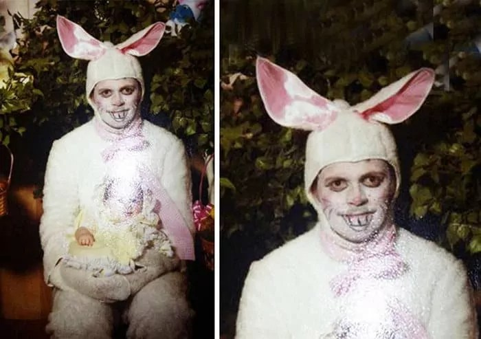 60 Scary Easter Bunny Pictures That Will Give You Nightmares -05