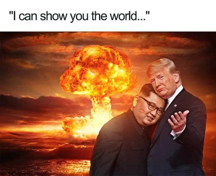 55 Hilarious Donald Trump Kim Jong Un Memes, Tweets to Make Your Day -10