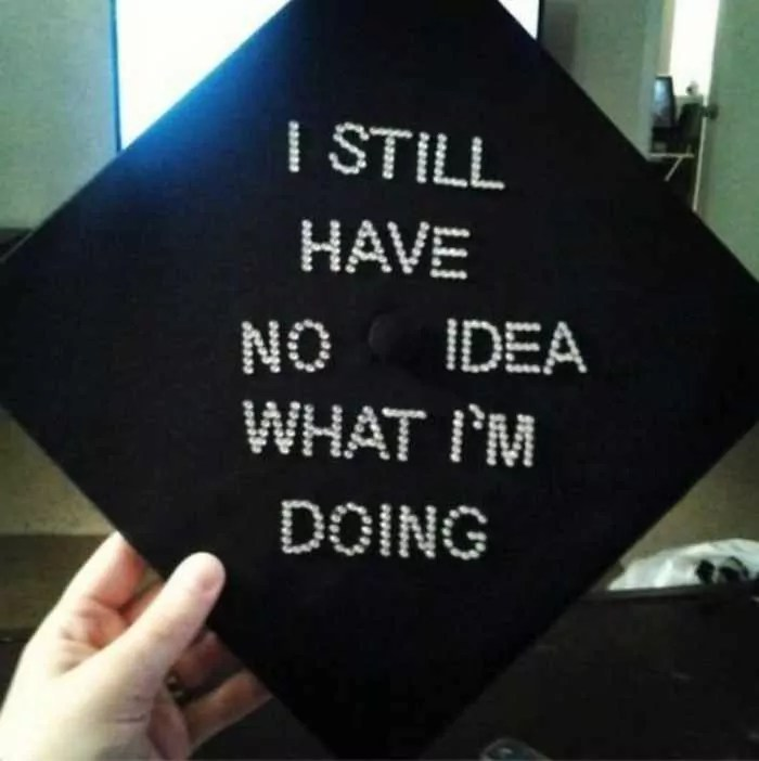30 Funniest Graduation Caps That Absolutely Nailed It -03