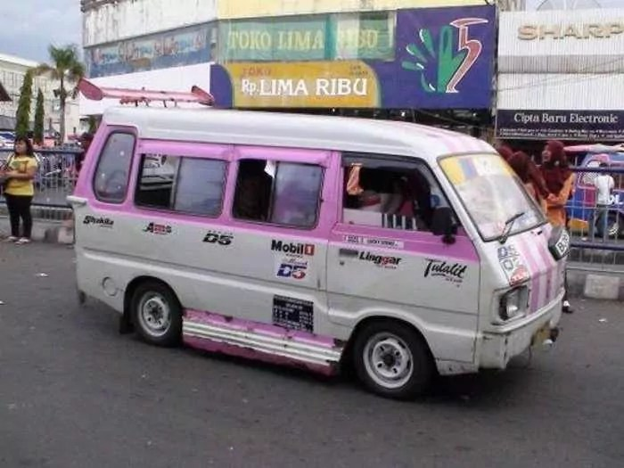 Meanwhile Creative Funny Cars In Indonesia - 16 Pics -13