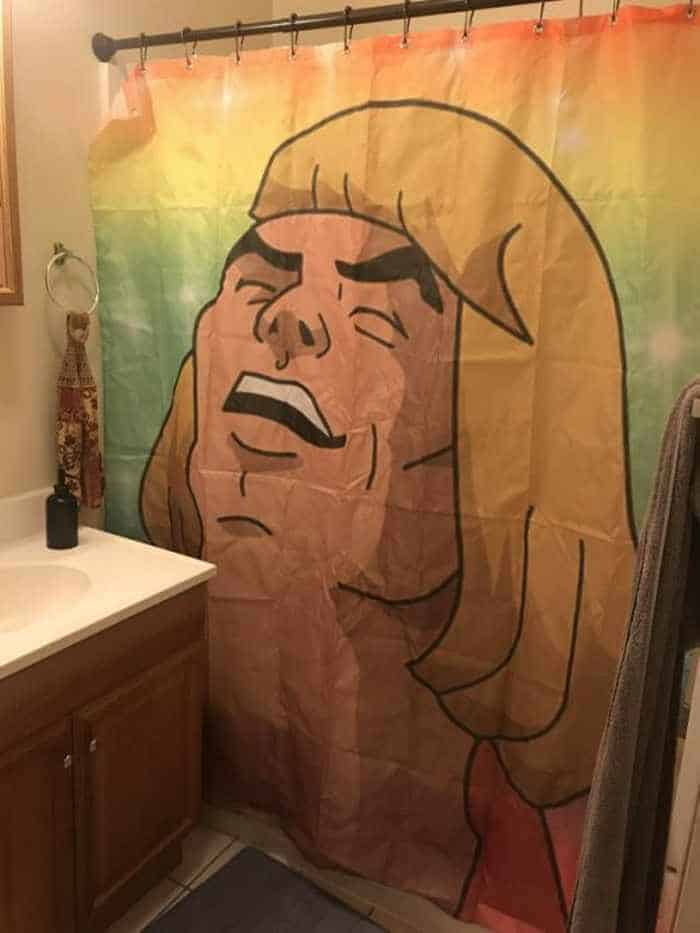 31 Funny Creative Shower Curtains That Will Make Your Day -14