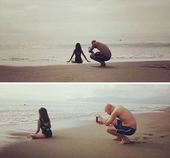 35 Funny Photos of Photographers Taking Pictures -07