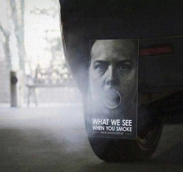 Funny And Creative Anti Smoking Advertisement
