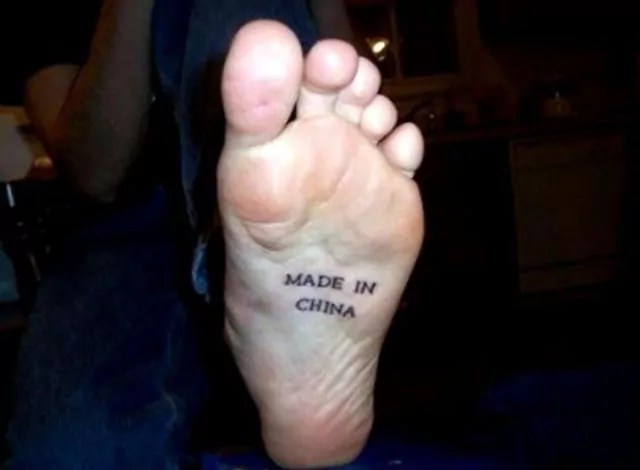 Shocking and Funny Made In China Foot That You Never Seen