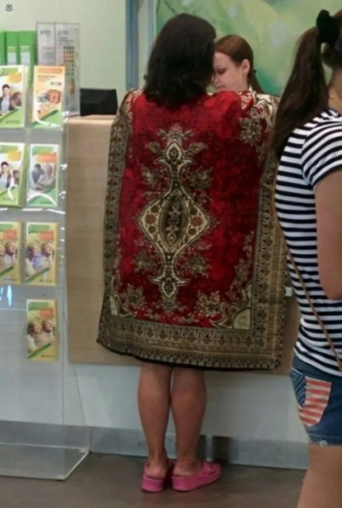 28 Funny Pics of Russians That Love Carpets Will Make Your Day-03