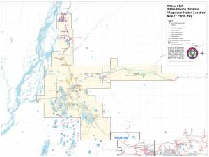 Willow Fire Service Area Map
