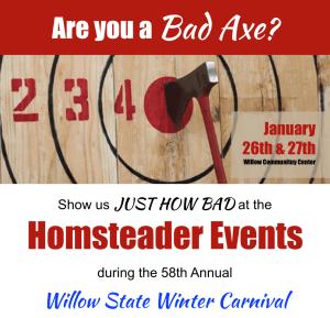 Homesteader Event Flyer