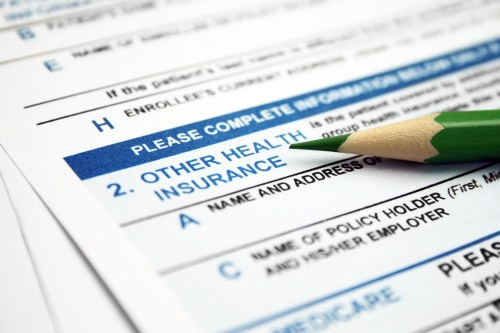 Photo of Health insurance form