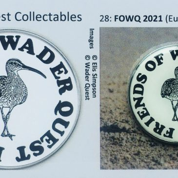 New Wader Quest Pin Badges announced