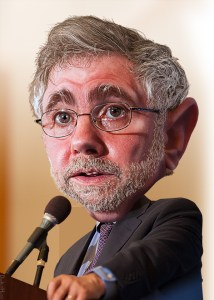 Paul Krugman - Caricature