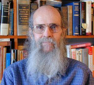 Leonard with books