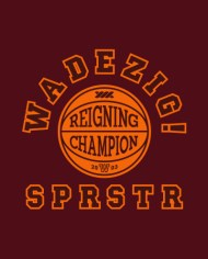 DOMINATE MAROON TEE FRONT