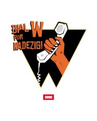 W FOR WADEZIG! TEE BACK