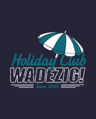 HOLIDAY CLUB TEE FRONT