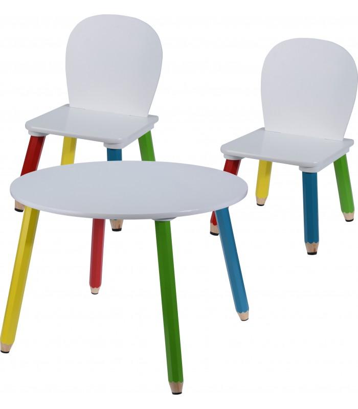 ensemble table et chaises pour enfants
