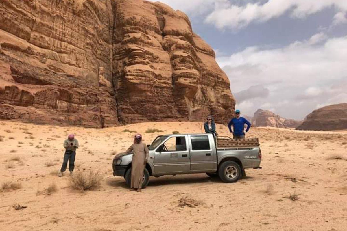 Full Day Desert Tour in Wadi Rum Desert, Jordan.