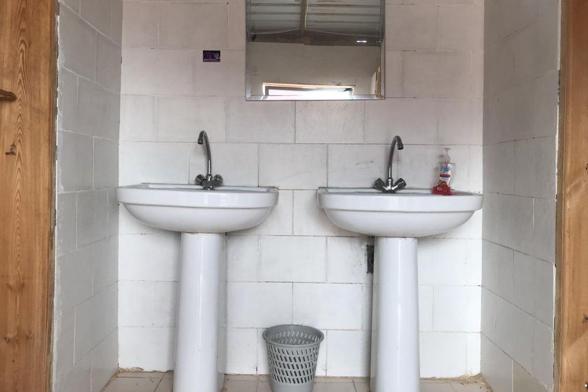 camp toilet