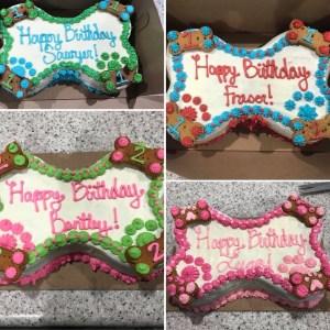 Custom Dog Birthday Cakes