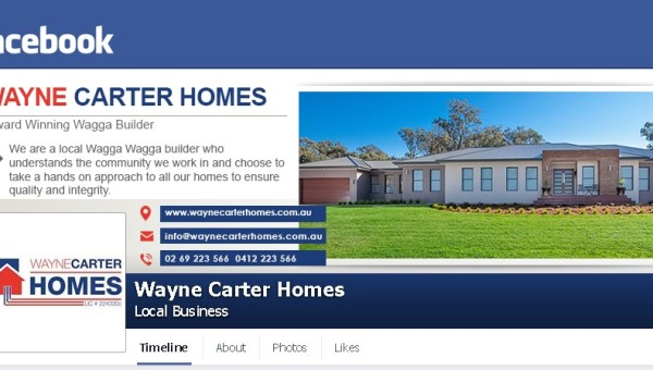 facebook page design wagga