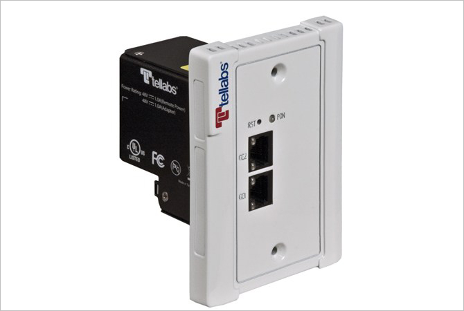Optical Network Terminal for In-Wall Installation