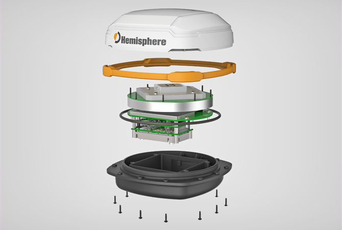 Exploded View 3D Rendering