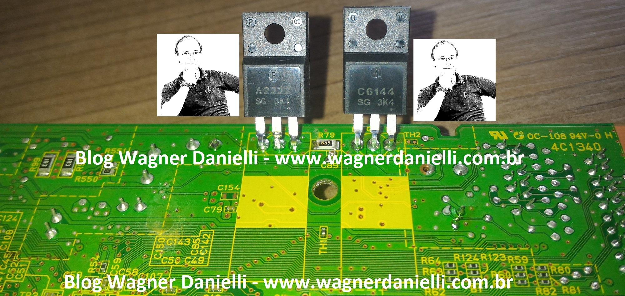 Placa logica L355 blog wagner danielli