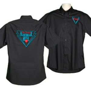 187 Style Rock n Roll Embroidered Shirt