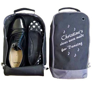Embroidered Shoe Bag