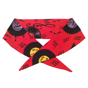 Red Records Neckerchief