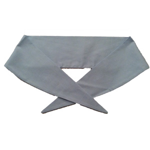 Ladies Plain Light Blue Neckerchief