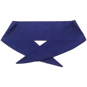 Ladies Royal Blue Neckerchief
