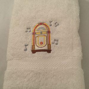 Small Dance Towel (White)