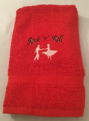 Small Dance Towel (Red)