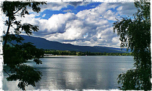 Divonne lake